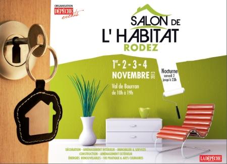 SANNITEC sera présent au 18eme salon de l'Habitat de RODEZ pour vous présenter l'aspiration centralisée DUOVAC
